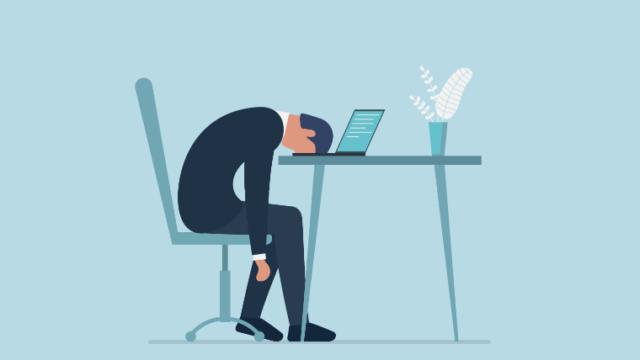 営業マン挫折